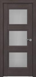 Межкомнатная дверь Zadoor ПО Гранд тип-N пекан темно-коричневый