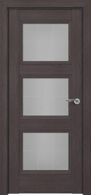 Фото -   Межкомнатная дверь Zadoor ПО Гранд тип-N пекан темно-коричневый   | фото в интерьере