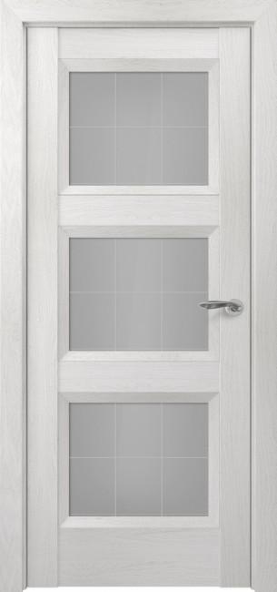 Фото -   Межкомнатная дверь Zadoor ПО Гранд тип-N пекан белый   | фото в интерьере