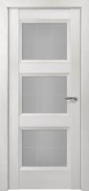Межкомнатная дверь Zadoor ПО Гранд тип-N пекан белый