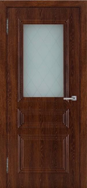 """Межкомнатная дверь ПВХ """"Римини"""", по, коньяк"""