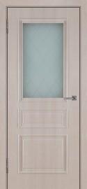 """Межкомнатная дверь ПВХ """"Римини"""", по, крем"""