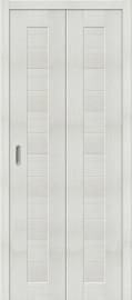 """Складная дверь """"Порта-21"""", пг, Bianco veralinga"""