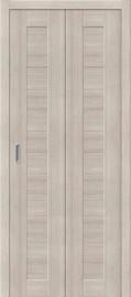 """Складная дверь """"Порта-21"""", пг, Cappuccino veralinga"""