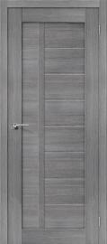 """Межкомнатная дверь """"Порта-26"""", пг, Grey Veralinga"""