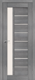 """Межкомнатная дверь """"Порта-27"""", по, Grey Veralinga"""