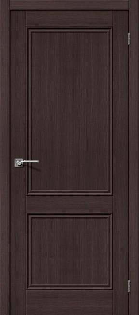"""Фото -   Межкомнатная дверь """"Порта-62"""", пг, Wenge Veralinga     фото в интерьере"""