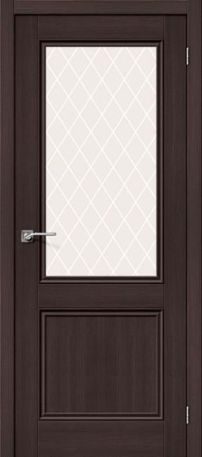 """Фото -   Межкомнатная дверь """"Порта-63"""", по, Wenge Veralinga     фото в интерьере"""