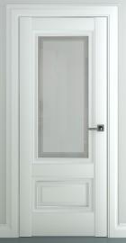 """Межкомнатная дверь """"Турин В1"""", по, матовый белый"""