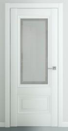 """Межкомнатная дверь """"Турин В2"""", по, матовый белый"""