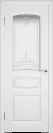 Межкомнатная дверь ПО Этюд Белая Эмаль