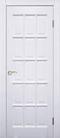 "Межкомнатная дверь ""Прима"", пг, белая"