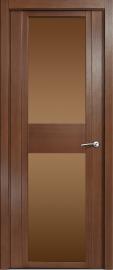 Межкомнатная дверь Мильяна Qdo D, по, дуб палисандр