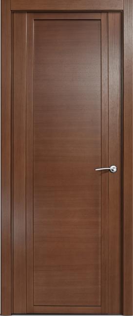 Фото -   Межкомнатная дверь Мильяна Qdo, пг, дуб палисандр   | фото в интерьере