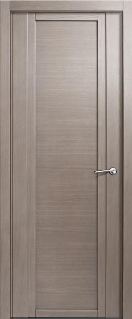 Фото -   Межкомнатная дверь Мильяна Qdo, пг, дуб грейвуд   | фото в интерьере