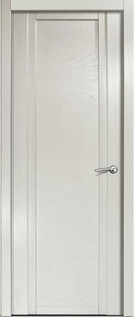 Фото -   Межкомнатная дверь Мильяна Qdo, пг, ясень жемчуг   | фото в интерьере