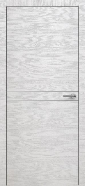 Фото -   Межкомнатная дверь Zadoor ПО H13 Окаша Сильвер     фото в интерьере