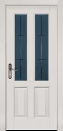 Фото -   Межкомнатная дверь Ретро, по, белая эмаль   | фото в интерьере