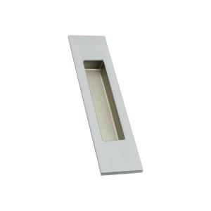 Фото -   Ручка для раздвижной двери ARNI, квадратная, хром матовый     фото в интерьере