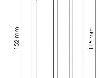 Фото -   Ручка для раздвижной двери, белая   | фото в интерьере