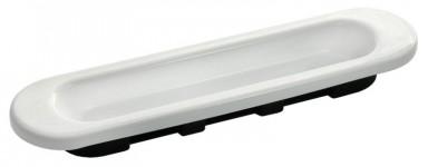 Фото -   Ручка для раздвижной двери, белая     фото в интерьере