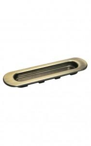 Фото -   Ручка для раздвижной двери, бронза   | фото в интерьере