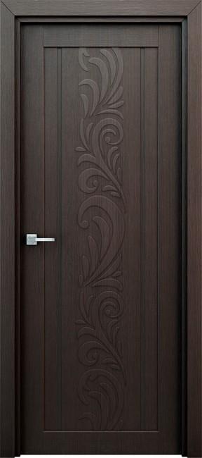 """Межкомнатная дверь """"Весна"""", пг, венге"""