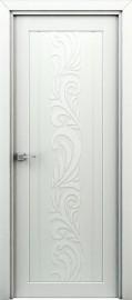 "Межкомнатная дверь ""Весна"", пг, белая"