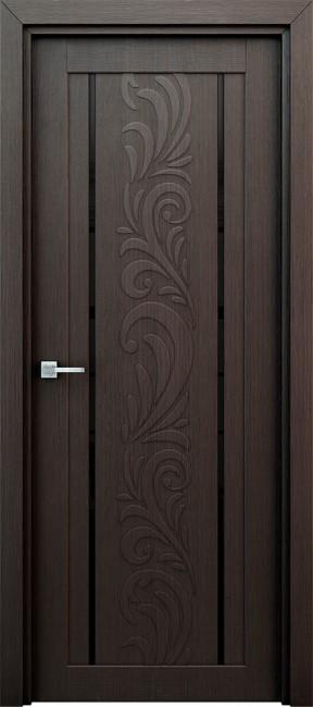 """Межкомнатная дверь """"Весна"""", по, венге"""