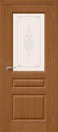 """Межкомнатная дверь """"Статус-15"""", по, орех"""