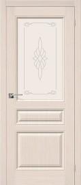 "Межкомнатная дверь ""Статус-15"", по, беленый дуб"