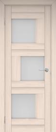 """Межкомнатная дверь """"Шахматы"""", по, эшвайт"""