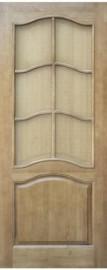 Межкомнатная дверь 7-ДО, светлый лак