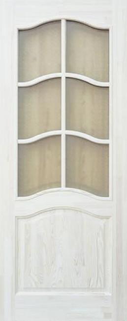 Фото -   Межкомнатная дверь 7-ДО, неокрашенная     фото в интерьере