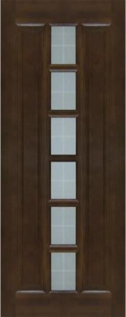 Фото -   Межкомнатная дверь 11-ДО, темный лак     фото в интерьере