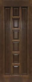 Межкомнатная дверь 11-ДГ, темный лак