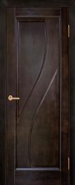 Фото -   Межкомнатная дверь Дива, венге, ПГ   | фото в интерьере