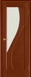 Фото -   Межкомнатная дверь Дива, бренди, ПО   | фото в интерьере