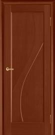Фото -   Межкомнатная дверь Дива, бренди, ПГ   | фото в интерьере