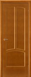 Фото -   Межкомнатная дверь Виола, медовый орех, ПГ   | фото в интерьере