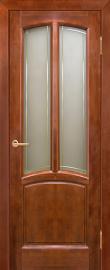 Фото -   Межкомнатная дверь Виола, бренди, ПО   | фото в интерьере