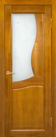 Межкомнатная дверь Верона, медовый орех, ПО