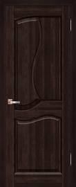Фото -   Межкомнатная дверь Верона, венге, ПГ   | фото в интерьере