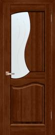 Фото -   Межкомнатная дверь Верона, бренди, ПО   | фото в интерьере