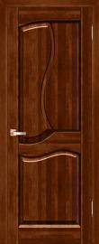 Фото -   Межкомнатная дверь Верона, бренди, ПГ   | фото в интерьере