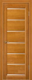 Фото -   Межкомнатная дверь Премьер плюс, медовый орех, ЧО   | фото в интерьере