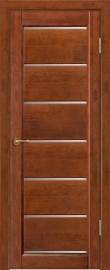 Фото -   Межкомнатная дверь Премьер плюс, бренди, ЧО   | фото в интерьере