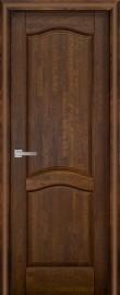 Фото -   Межкомнатная дверь Лео ДГ, античный орех   | фото в интерьере