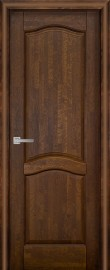 Межкомнатная дверь Лео ДГ, античный орех