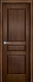Фото -   Межкомнатная дверь Валенсия ДГ, античный орех   | фото в интерьере